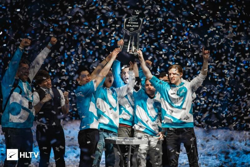 2018 CS:GO Major turnuvaları ve kazananları