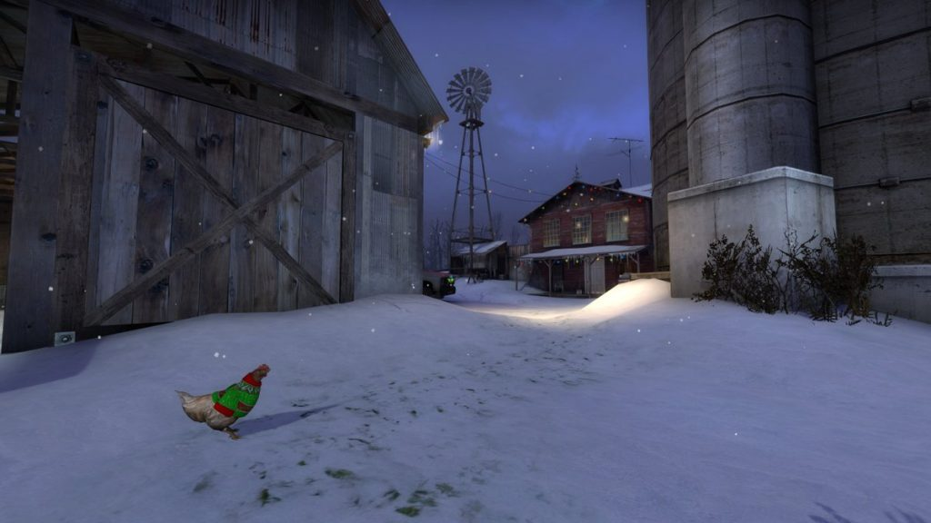 Valve, 10 Yıl Rozeti'ni kış güncellemesiyle beraber oyuna ekledi