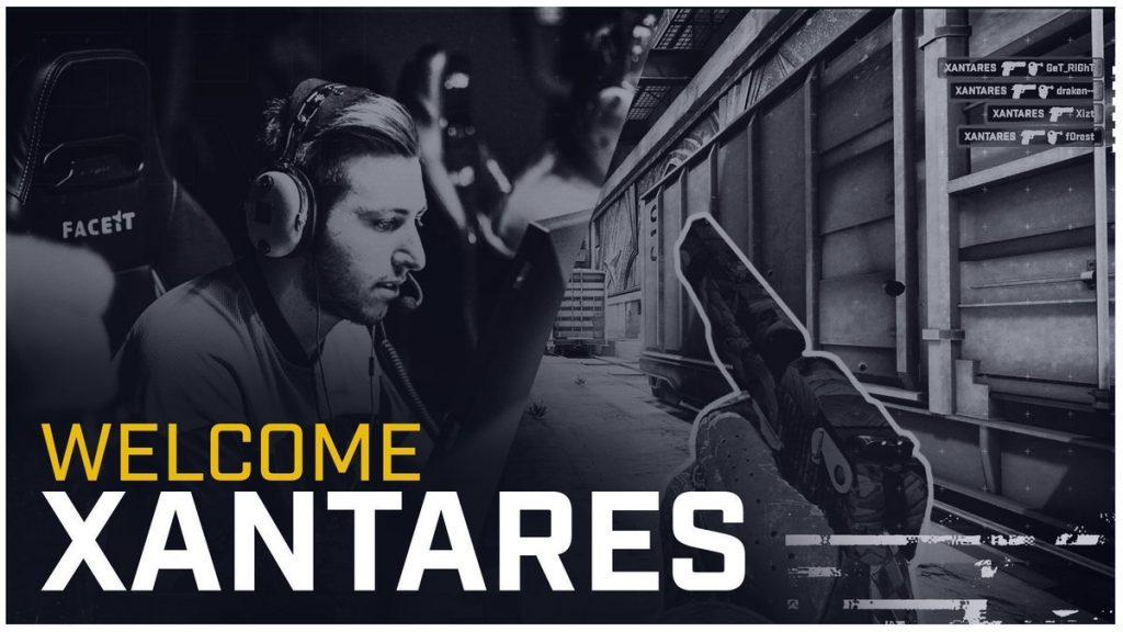 BIG yeni oyuncusu XANTARES için bir video paylaştı