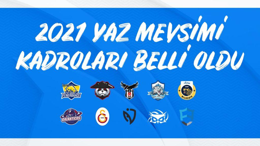 VFŞL 2021 Yaz Mevsimi Kadroları Belli Oldu!